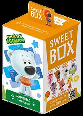 Мармелад жевательный «СвитБокс» с игрушкой Ми-ми-мишки, 10г