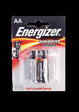 Батарейки пальчиковые «Energizer» POWER 2 шт