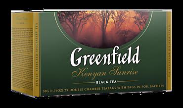 Чай черный «Greenfield» Kenyan Sunrise 25 пакетов, 50г