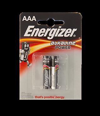 Батарейки мизинчиковые «Energizer» POWER 2 шт