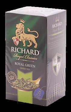 Чай зеленый «Richard» Royal Green, 50г