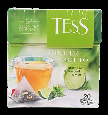 Чай зеленый «Tess» Ginger mohito, 36г