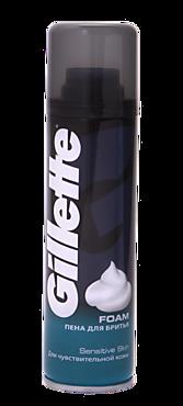 Пена для бритья «Gillette» для чувствительной кожи, 200мл