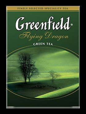 Чай зеленый «Greenfield» Flying Dragon, 100г