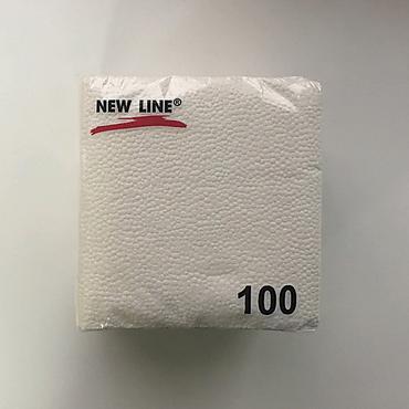 Салфетки бумажные «Новая линия» однослойные, 110г