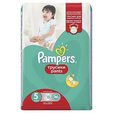 Подгузники-трусики «Pampers» , 15шт