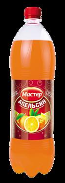 Лимонад Апельсин «Мастер», 1,5л