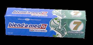Зубная паста «Blend-a-med» с ополаскивателем, 100мл