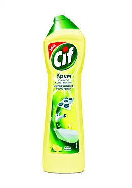 Чистящий крем «Cif» Лимон, 500мл