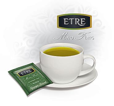 «ETRE», mao Feng чай зеленый, 300 конвертиков саше, 600г