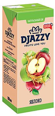 Сок яблочный «Djazzy», 210г