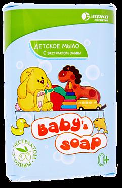 Мыло туалетное «Baby's Soap» с экстрактом оливы, 90г