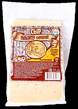 Сыр Тильзитер 26% «Алтайские сыровары», 200г
