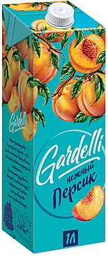 «Gardelli», нектар «Нежный персик»
