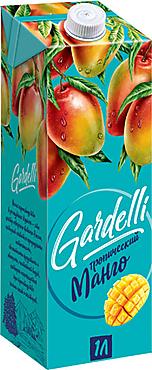 «Gardelli», нектар «Тропический манго»