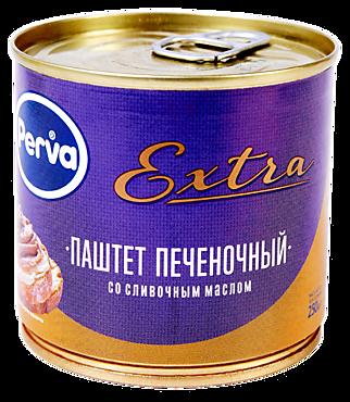 Паштет печеночный «Perva» Extra со сливочным маслом, 250г
