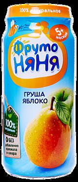 Пюре «ФрутоНяня» Груша и яблоко, 250г