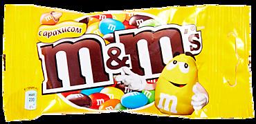 Драже «M&M's» арахис, 45г
