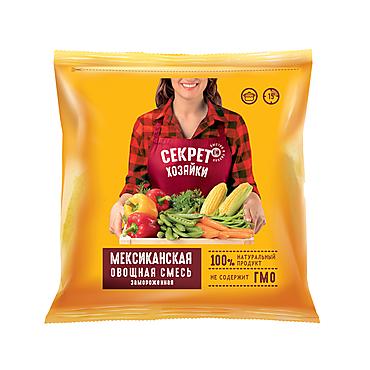 Овощная смесь Мексиканская «Секрет хозяйки» замороженная, 400г