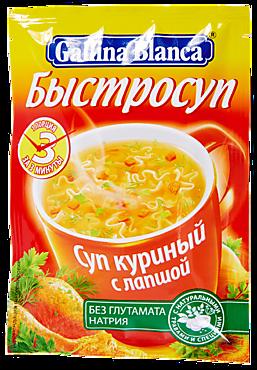Суп куриный «Быстросуп» с лапшой, 18г