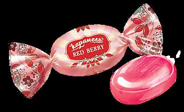 Карамель Red berry