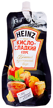 Соус «Heinz» кисло-сладкий, 230г