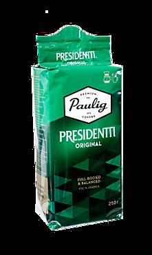 Кофе натуральный жареный молотый «Paulig Presidentti Original», 250г