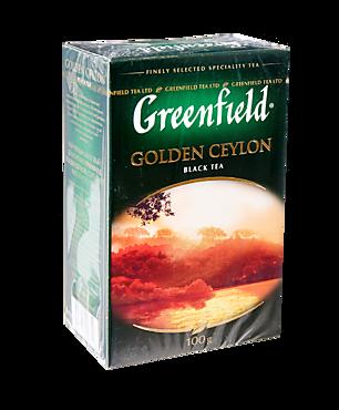 Чай черный «Greenfield» Golden Ceylon, 100г