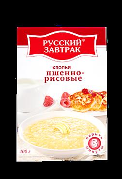Хлопья «Русский завтрак» пшенно-рисовые, 400г