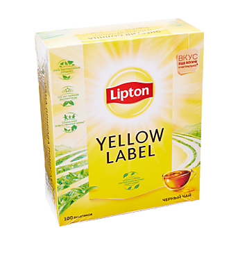 Чай черный «Lipton» Yellow Label 100пак