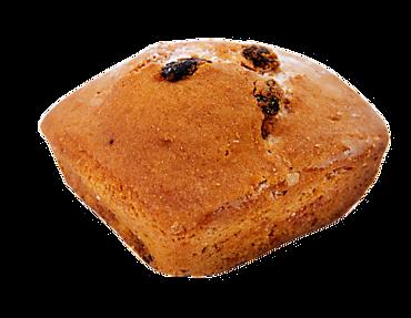 Кекс ванильный с изюмом, 100г