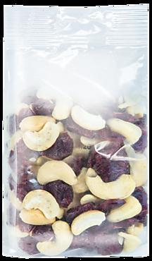 Ягодно-ореховая смесь Кешью-Клюква, 100г