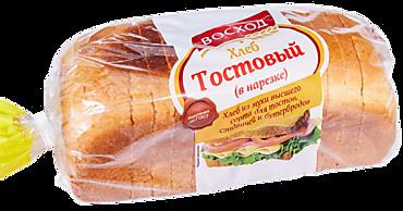 Хлеб тостовый «Восход» в нарезке, 350г