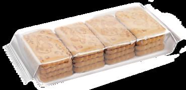 Печенье сахарное «Земляника со сливками», 215г