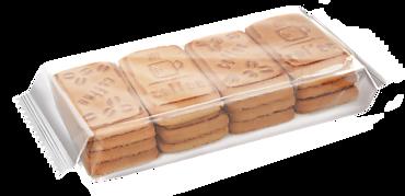 Печенье сахарное «К кофе, со вкусом пломбира», 204г