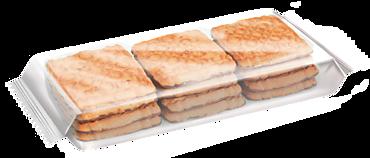 Печенье сахарное «Зебра» с топленым молоком, 170г