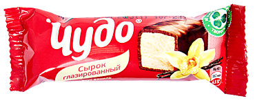 Глазированный сырок 25.6% «Чудо» со вкусом ванили, 40г