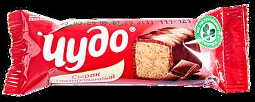 Глазированный сырок 25.6% «Чудо» со вкусом шоколада, 40г