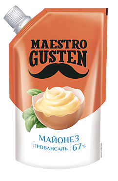 Майонез Провансаль «Maestro Gusten» 67%, 200мл