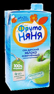 Сок детский «ФрутоНяня» Яблоко, 500мл