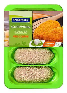 Котлеты «Троекурово» Фри с сыром, 500г