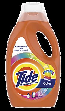 Гель для стирки «Tide» Color, 1,235л