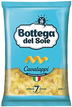 «Bottega del Sole», макаронные изделия «Витки», 400г