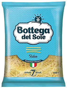 «Bottega del Sole», макаронные изделия «Вермишель», 400г