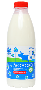 Молоко 3.5% отборное, 930мл