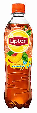 Чай холодный «Lipton» персик, 500мл