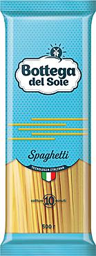 «Bottega del Sole», макаронные изделия «Спагетти», 500г