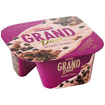 Десерт творожный 7.3% «Grand Duet» Шоко трио, 138г