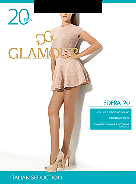 Колготки «Glamour Edera» 20 den daino, size 2