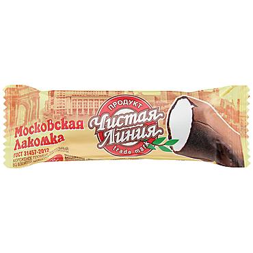 Эскимо «Чистая линия» Московская лакомка, 80г